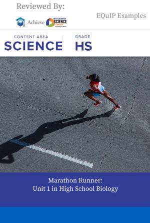 High School: Marathon Runner: Unit 1 in Biology   Next