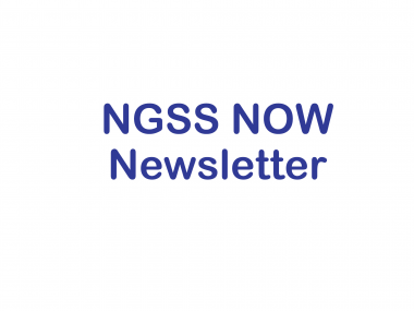 NGSS NOW Newsletter