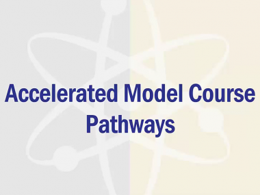 Accelerated Model Course Pathways Button